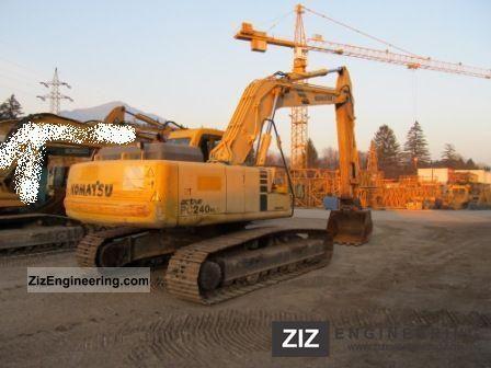 1999 Komatsu  240 NLC 6K Construction machine Caterpillar digger photo