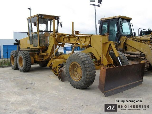 1986 Komatsu  * Year * DA623A 1986/Mittel-Frontschar/10000Bstd/TOP Construction machine Grader photo