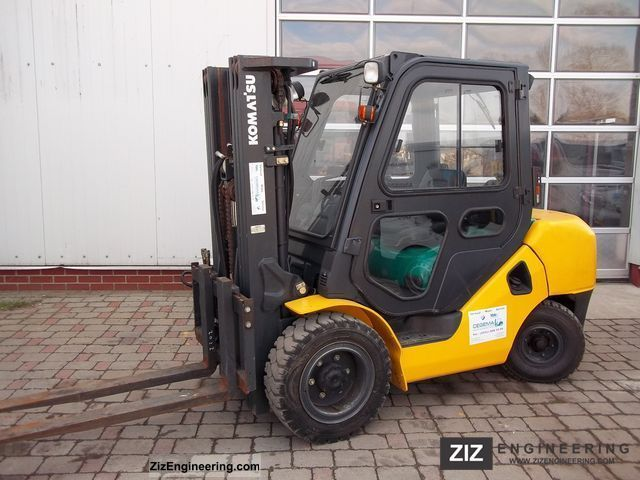 2009 Komatsu  FD35AT16R Forklift truck Front-mounted forklift truck photo