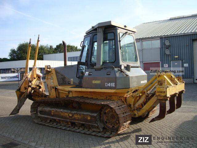 1996 Komatsu  D41E-6 Ripper + laser Construction machine Dozer photo