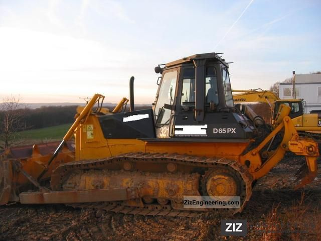 1998 Komatsu  D 65 PX-12 hours with ripper / 6970! Construction machine Dozer photo