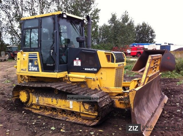 2008 Komatsu  D31 PX-21A! Winch! 6-way sign! Construction machine Dozer photo
