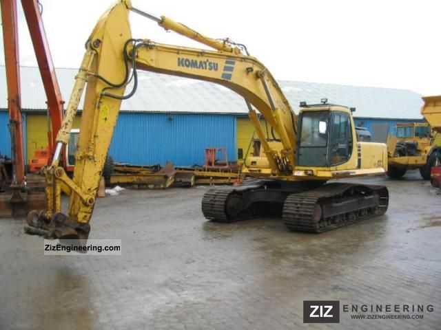 2000 Komatsu  340-6 LC Construction machine Caterpillar digger photo