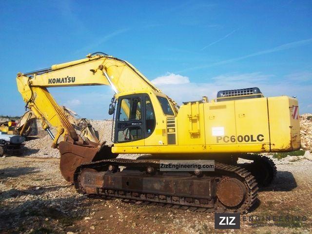 Komatsu Pc 600 Lc6 2003 Construction Equipment Photo And Specs