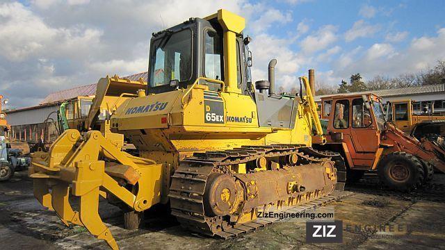 2007 Komatsu  D65EX15 with Ripper Construction machine Dozer photo