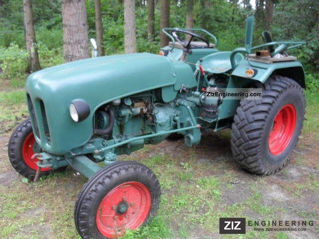1963 Kramer  KL 350 export Agricultural vehicle Tractor photo