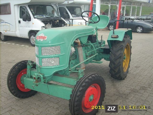1958 Kramer  180 KB Agricultural vehicle Tractor photo