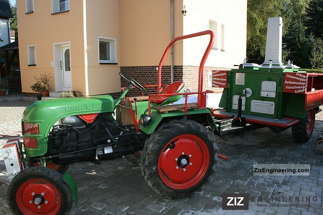 1959 Kramer  K10 + Gulaschkanone Agricultural vehicle Tractor photo