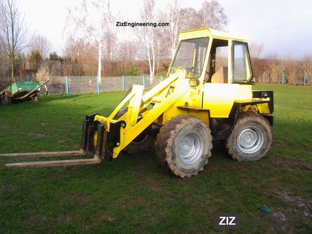 2011 Kramer  312 Construction machine Wheeled loader photo