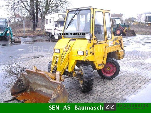 1993 Kramer  ... 112 SL (W + P + BUCKET + FORK STEERING WHEEL) Construction machine Wheeled loader photo