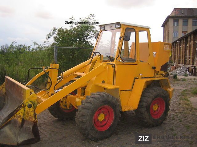1993 Kramer  !! 312 le 5500Betrst only. complete new service!! Construction machine Wheeled loader photo