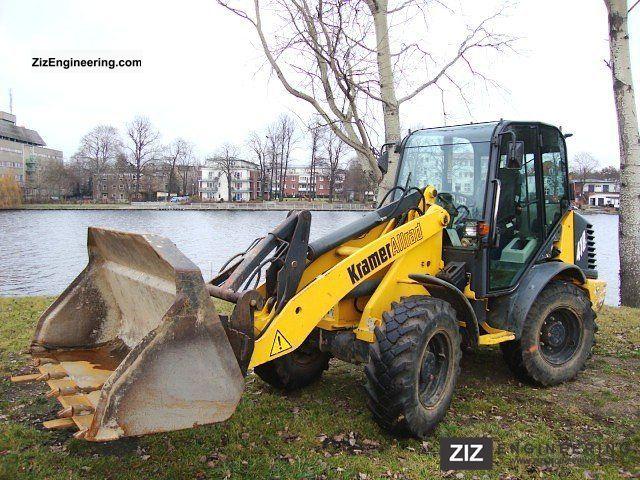 2003 Kramer  418-II wheel loader 5.5 ton wheel loader forks Construction machine Wheeled loader photo