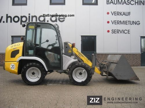 2009 Kramer  350 Construction machine Wheeled loader photo