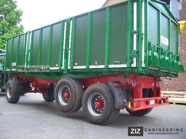 2009 Kroeger  HDK 402 Trailer Three-sided tipper photo