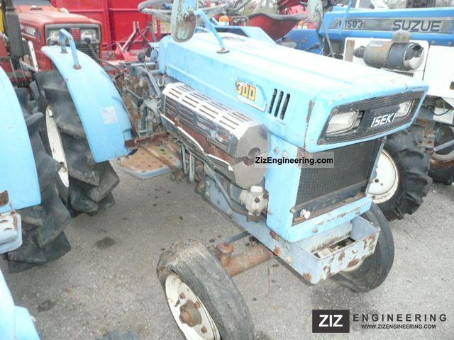 2011 Kubota  Iseki TX1300 Agricultural vehicle Tractor photo