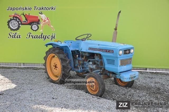 2011 Kubota  Hinomoto E18S Agricultural vehicle Tractor photo