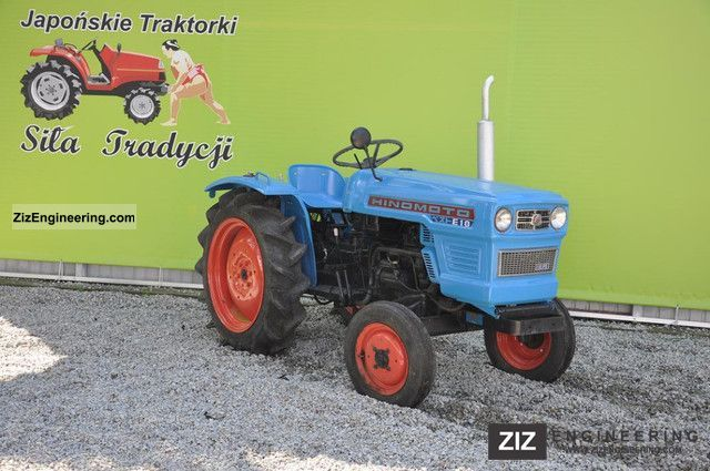 2011 Kubota  Hinomoto E18 Agricultural vehicle Tractor photo