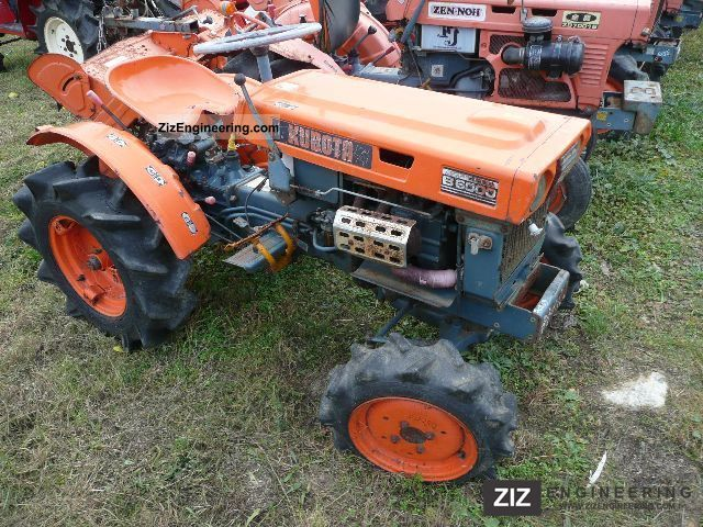 2011 Kubota  B 6000 DT .. Ln: Last 4 70 203 pieces! Agricultural vehicle Tractor photo
