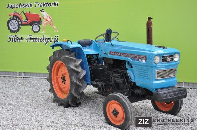 2011 Kubota  Hinomoto E23S Agricultural vehicle Tractor photo
