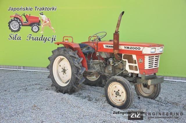 Yanmar 2000 Parts : Yanmar tractor autos post