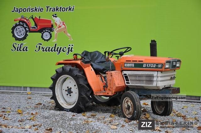 2011 Kubota  B1702S Agricultural vehicle Tractor photo