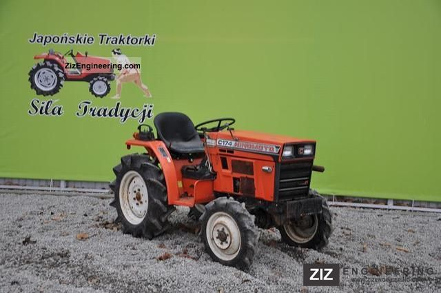 2011 Kubota  Hinomoto C174D 4x4 Agricultural vehicle Tractor photo