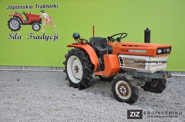 2011 Kubota  B1600D 4x4 Agricultural vehicle Tractor photo