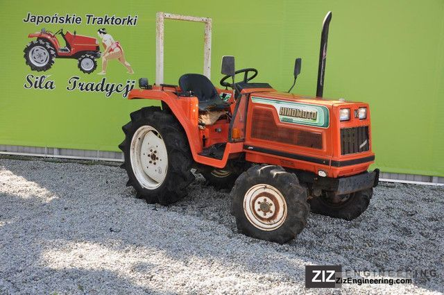 2011 Kubota  Hinomoto N239D 4x4 Agricultural vehicle Tractor photo