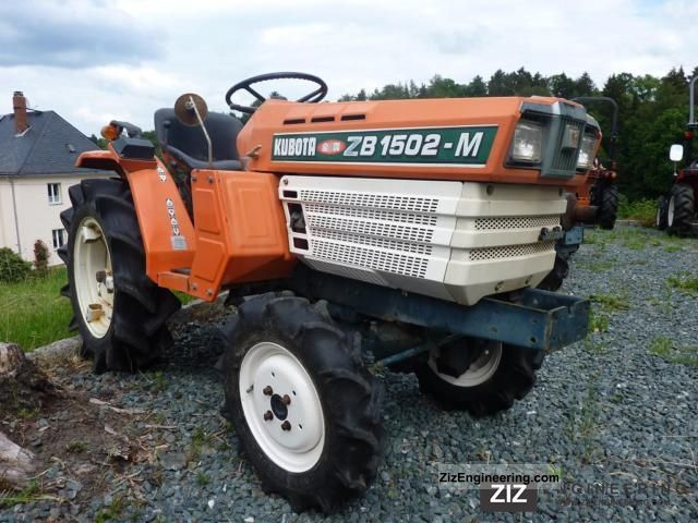 2011 Kubota  1502 Agricultural vehicle Tractor photo