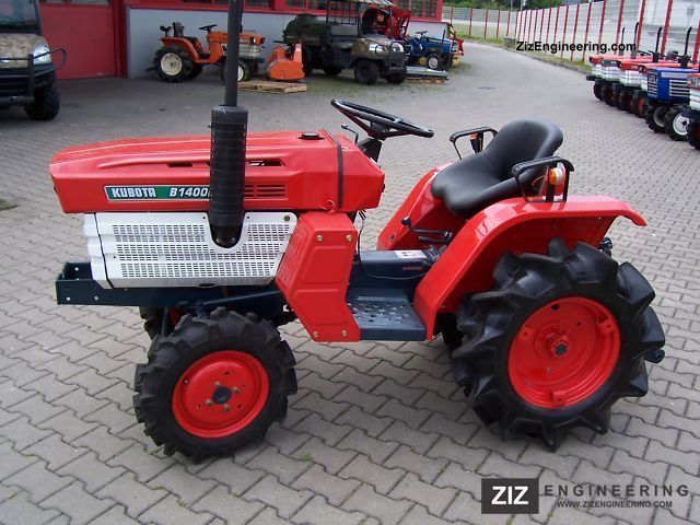 2011 Kubota  B 1400 Agricultural vehicle Tractor photo