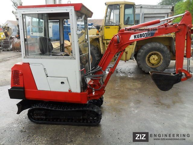 1991 Kubota  Type: KH41, Year: 1991, good condition Construction machine Mini/Kompact-digger photo