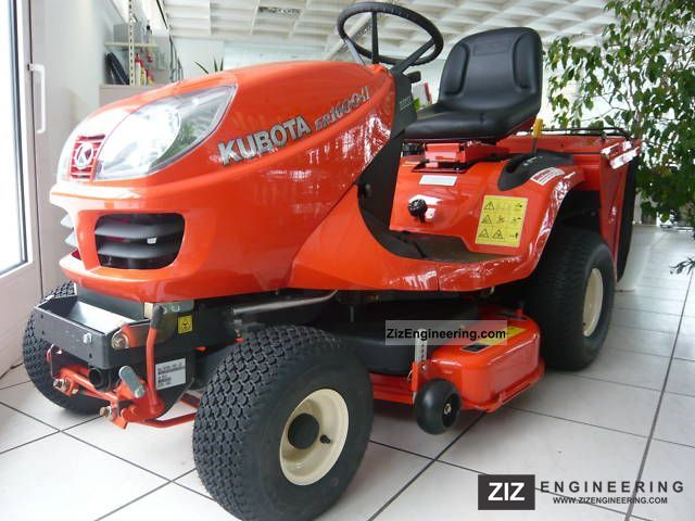 2009 Kubota  GR 1600-II Agricultural vehicle Reaper photo