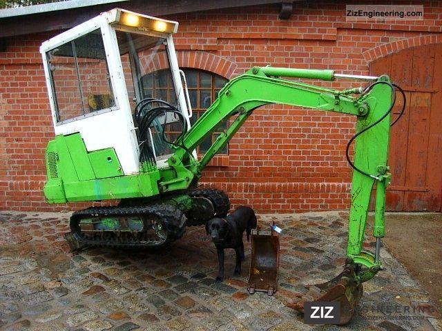 kubota kh 41 mini excavator excavator 2200h 1990 mini. Black Bedroom Furniture Sets. Home Design Ideas