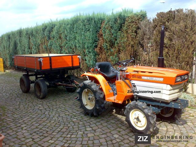 1990 Kubota  B 1400 wheel Agricultural vehicle Tractor photo