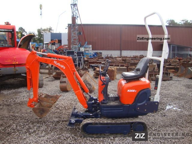 2006 Kubota  k008-3 Construction machine Mini/Kompact-digger photo