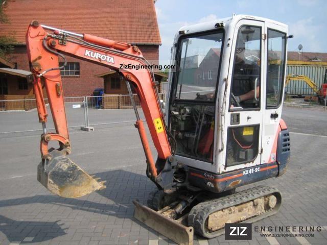 2002 Kubota  KX 41-2 C Construction machine Mini/Kompact-digger photo