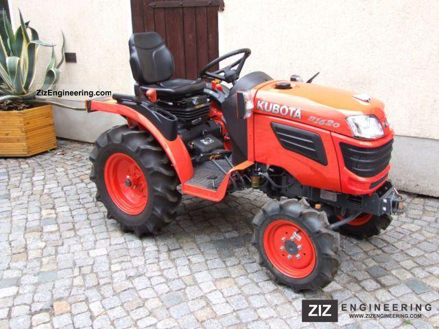 2012 Kubota  B1620 Agricultural vehicle Tractor photo