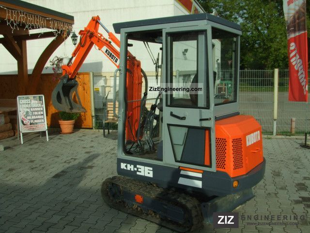 1994 Kubota  K H 36 H 1.3 T. Construction machine Mobile digger photo