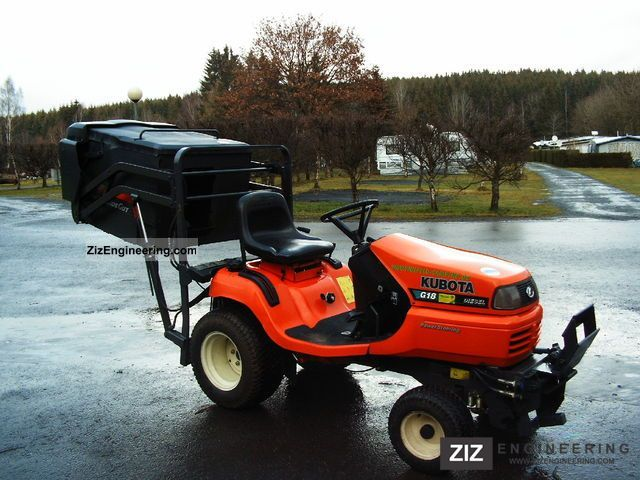 2003 Kubota  G18 mower Agricultural vehicle Reaper photo