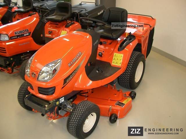 2010 Kubota  GR2100 II Agricultural vehicle Tractor photo