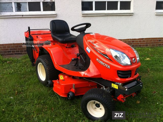 2011 Kubota  GR2120 Agricultural vehicle Reaper photo
