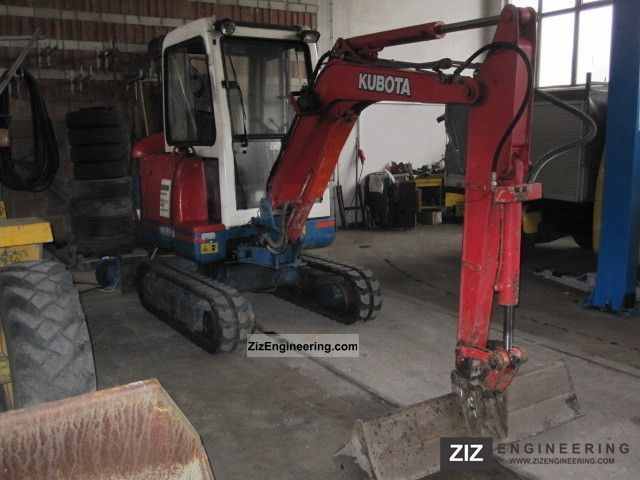 2000 Kubota  ** New ** KX 61-2 chains Construction machine Mini/Kompact-digger photo