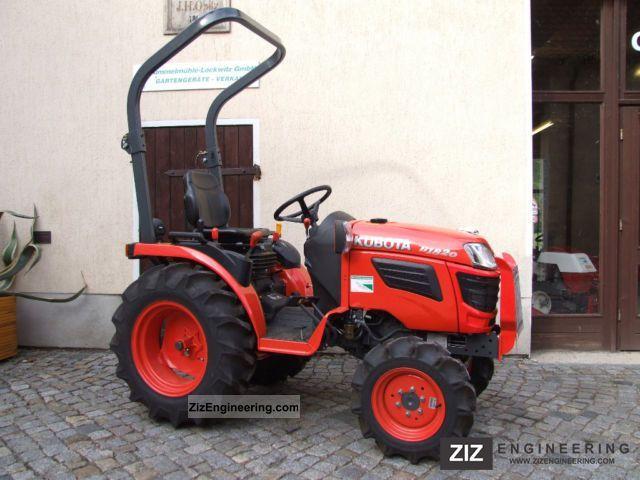 2012 Kubota  B1820 Agricultural vehicle Tractor photo