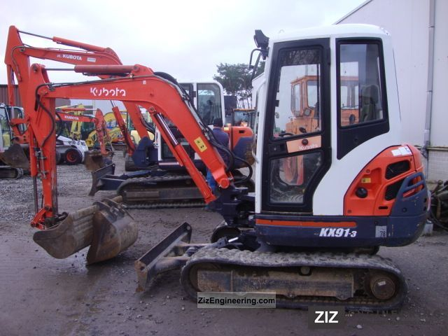 2003 Kubota  KX91-3 Construction machine Mini/Kompact-digger photo