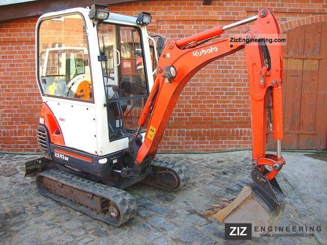 kubota kx41 3v mini excavator excavator hydraulic hammer. Black Bedroom Furniture Sets. Home Design Ideas