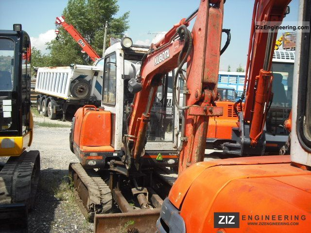 2001 Kubota  kx 71-2 30q.li Construction machine Mini/Kompact-digger photo