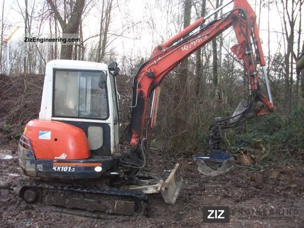 2002 Kubota  101-3 Construction machine Mini/Kompact-digger photo