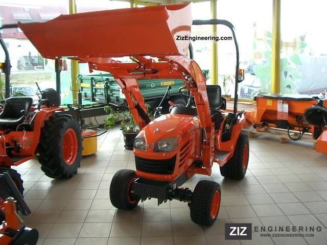 2007 Kubota  BX tractor with front loader and backhoe Agricultural vehicle Tractor photo