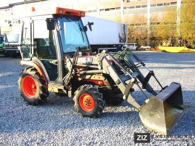 2003 Kubota  B 2110 HD 4x4 all-wheel-loader + mower Agricultural vehicle Tractor photo