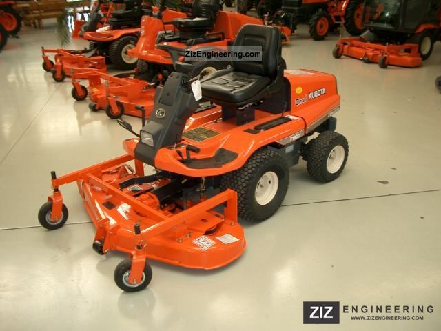 2008 Kubota  F1900D Agricultural vehicle Tractor photo